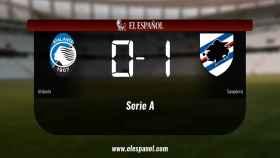 La Sampdoria gana por 0-1 al Atalanta