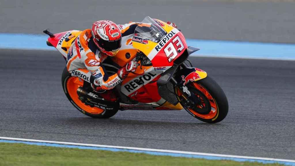 Marc Márquez consigue la victoria en el Gran Premio de Tailandia