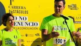 Sánchez, este domingo en Alcobendas