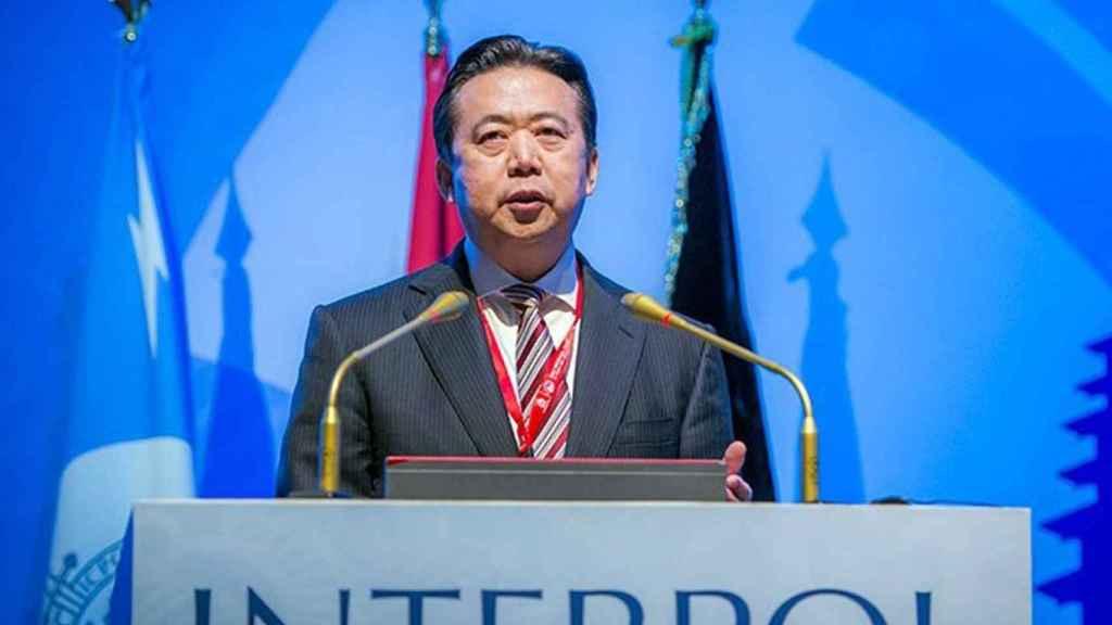 Meng Hongwei en una imagen de archivo.