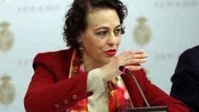 a ministra de Trabajo, Migraciones y Seguridad Social, Magdalena Valerio.