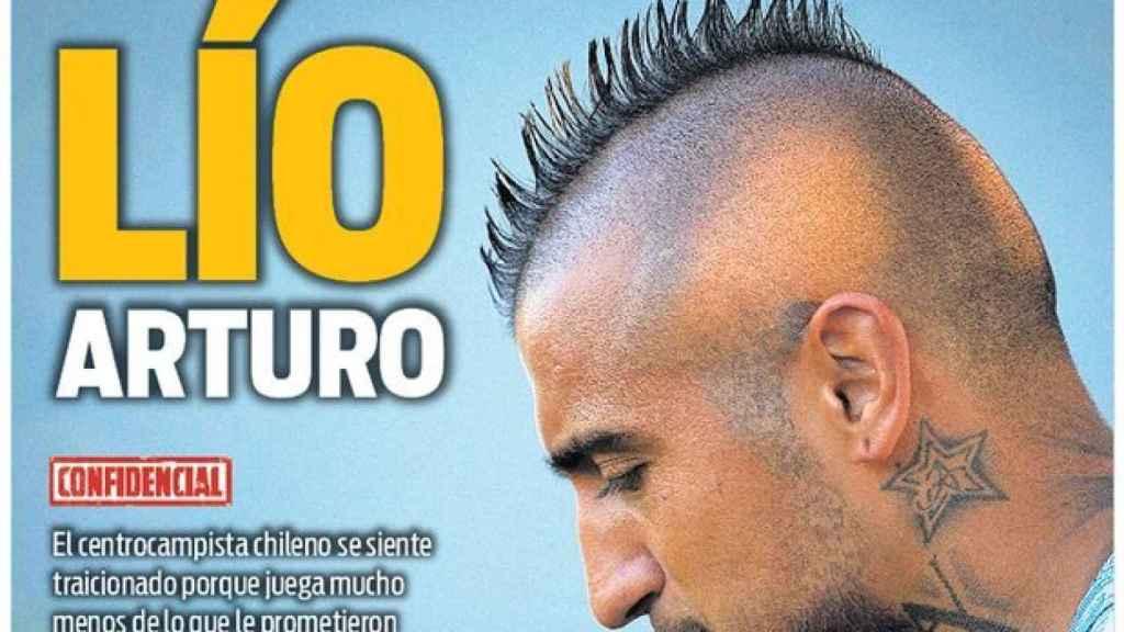 Portada diario Sport  (09/10/2018)