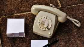 Teléfono fijo, en una imagen de archivo.