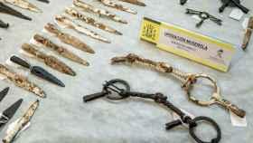 La Guardia Civil recupera 92 piezas celtibéricas gracias a un anuncio en internet.