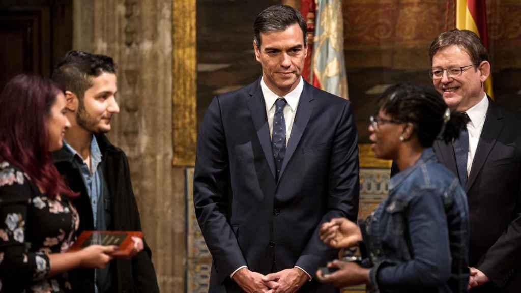 Pedro Sánchez asiste este martes a los actos del día de la Comunidad Valenciana.