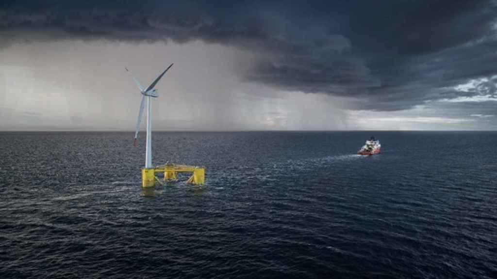 Cobra irrumpe en el mercado eólico en el mar con tecnología flotante