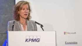 Margarita Delgado, subgobernadora del Banco de España, en el IX Encuentro sobre el sector Financiero.