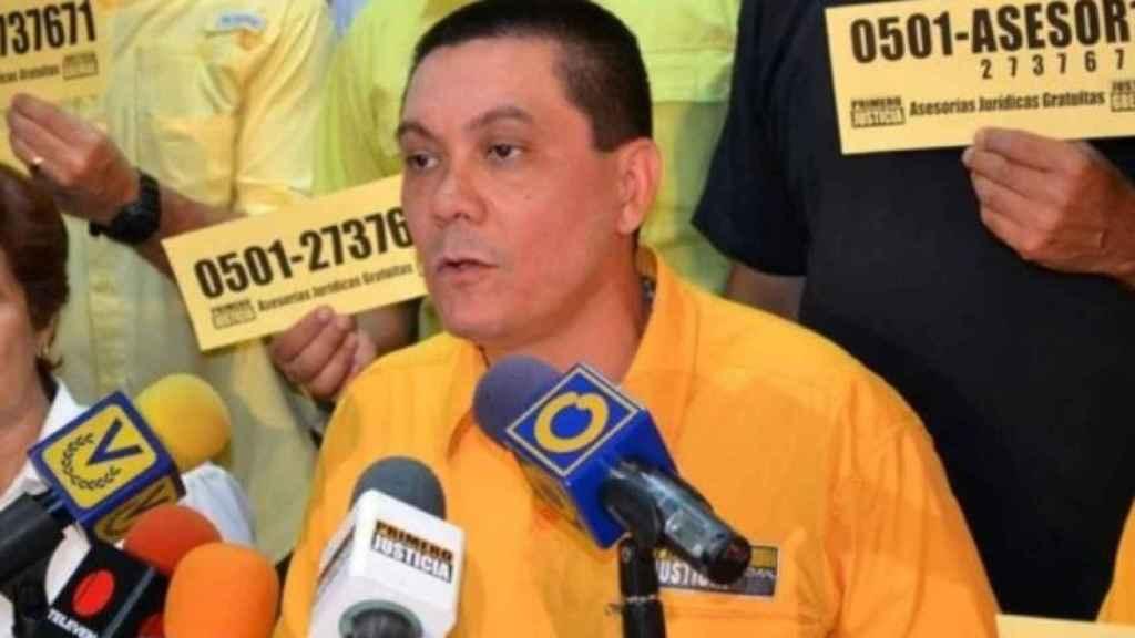 El opositor venezolano Fernando Albán.