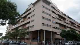 Edificios situados en el centro de Málaga.