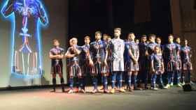 Presentación de la nueva equipación del Zamora. Foto: Twitter (@ZCFoficial)