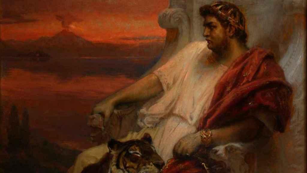 Nerón, el emperador que castró a su amante para poder casarse con él.