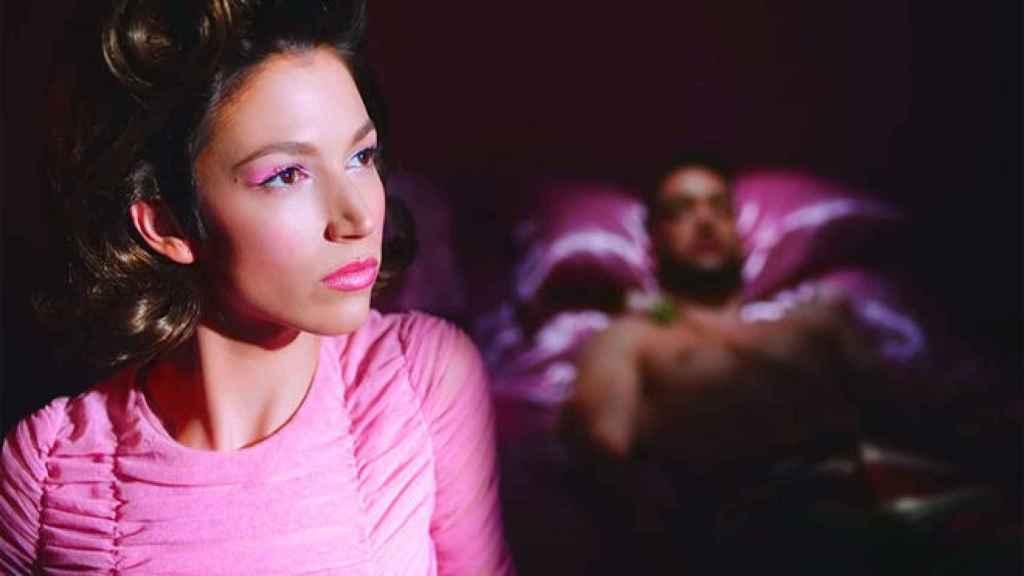 Úrsula Corberó en el nuevo vídeo de C. Tangana, dirigido por Eduardo Casanova.