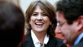 La ministra de Justicia, Dolores Delgado, este miércoles en el Congreso.