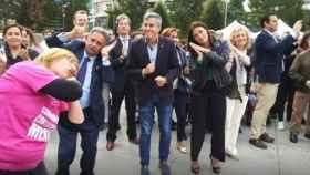 El presidente de Cantabria, Miguel Ángel Revilla, este miércoles.