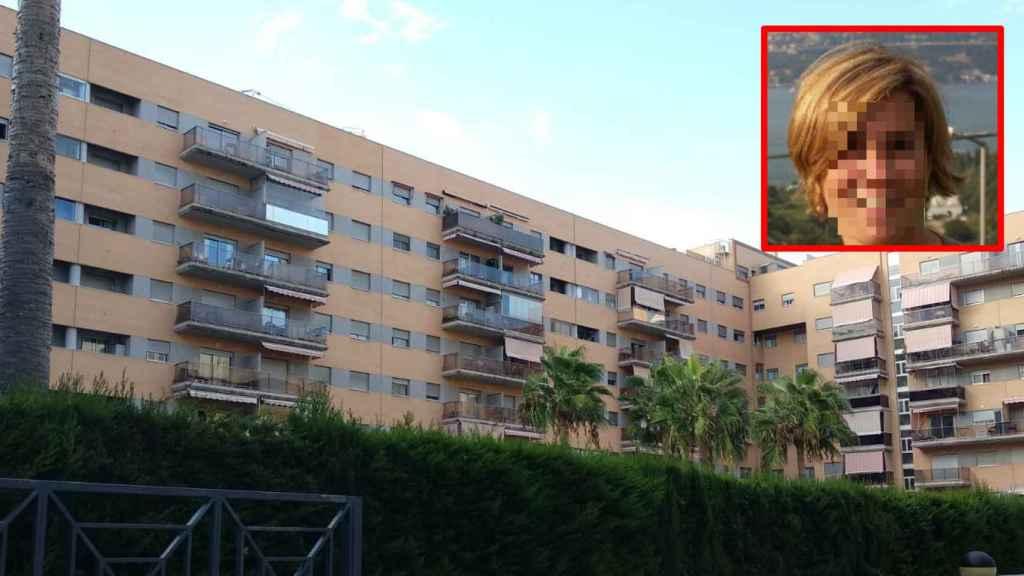 La familia, formada por Emelina (en la imagen) y su marido Fernando, vivían en un sexto piso.