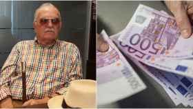 A la derecha, Rafael Herrero, exdirector del Banco de España en Ceuta y denunciante de la situación.