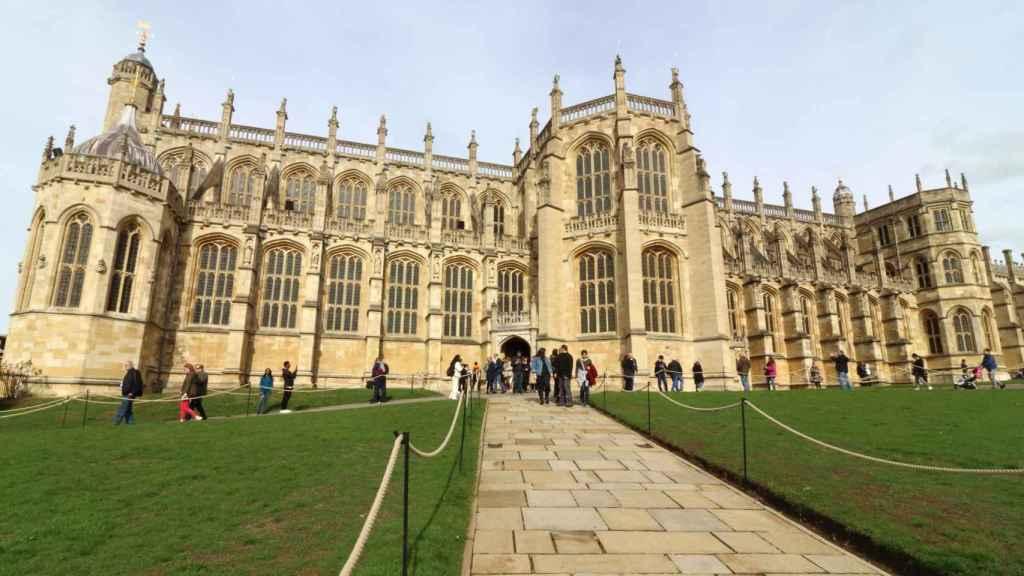 El castillo de Windsor en una imagen reciente.