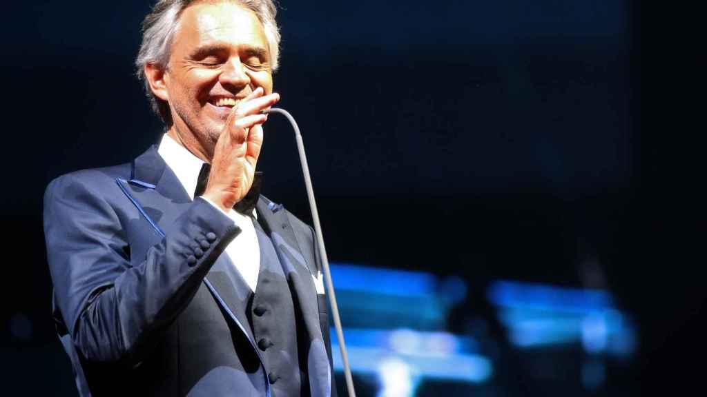 Andrea Bocelli en una imagen de archivo.
