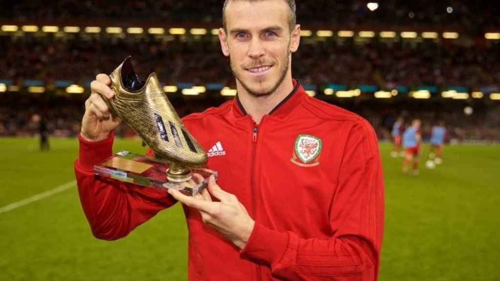Gareth Bale, máximo goleador de la historia de Gales. Foto: Twitter (@elchiringuitotv)