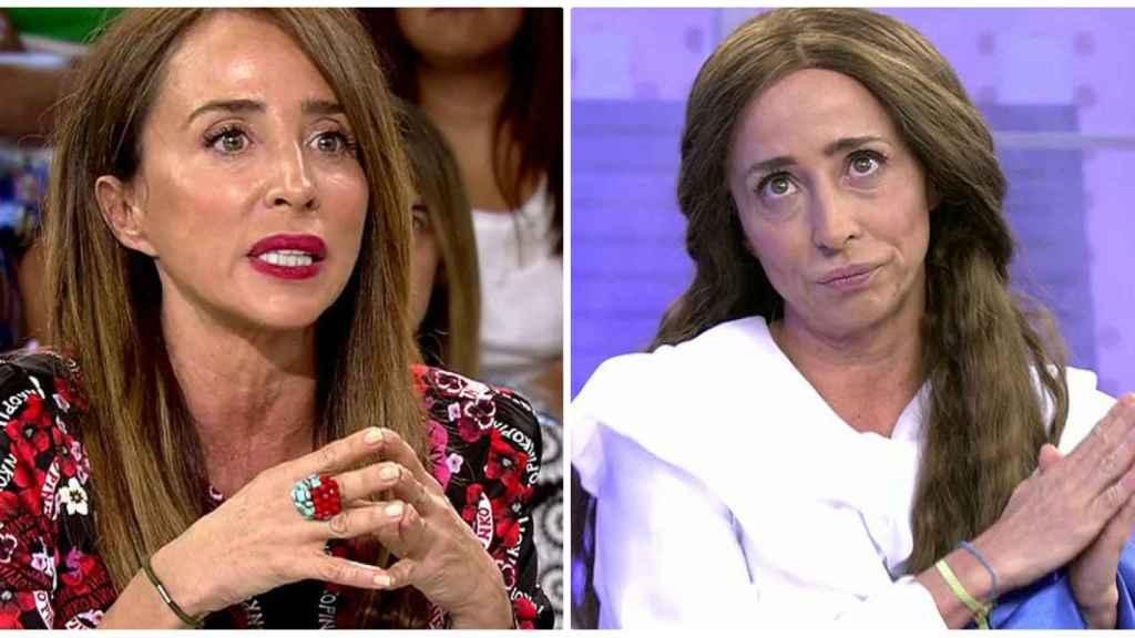 María Patiño en un montaje de JALEOS.