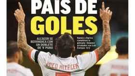 La portada del diario MARCA (12/10/2018)