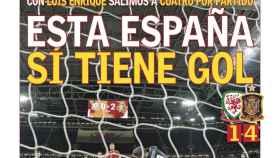 La portada del diario AS (12/10/2018)