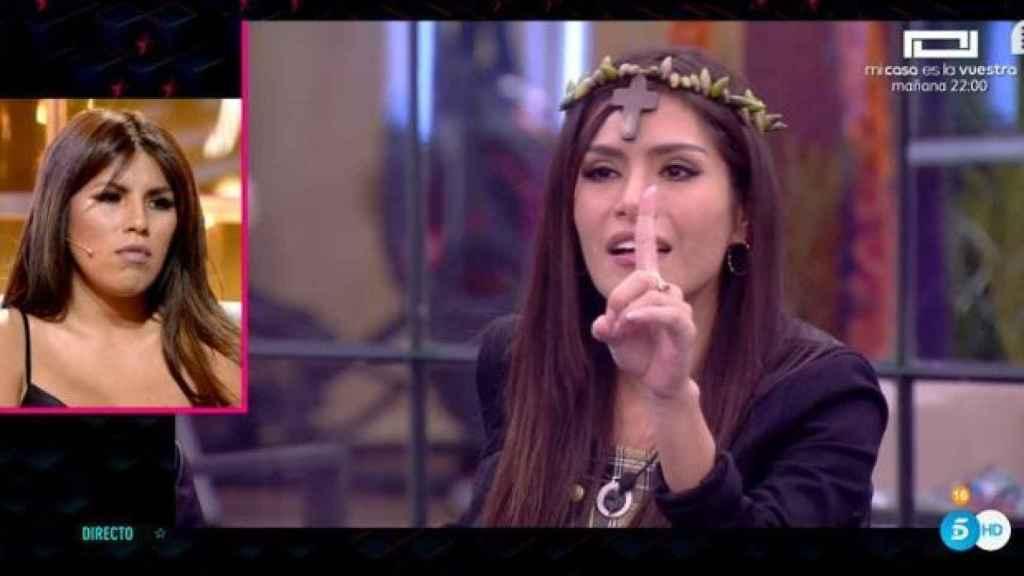 Miriam Saavedra en 'Gran Hermano VIP'.