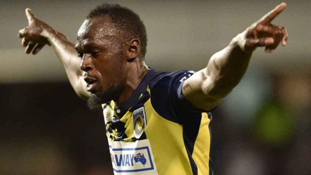 Bolt comienza a lo grande en la Liga australiana.