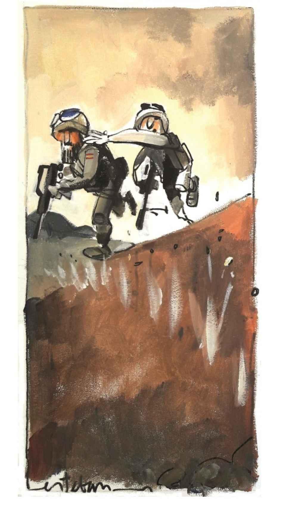 Sparring y 5V, en los combates de Sabzak.