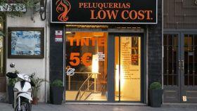 Fachada de uno de los establecimientos ubicados en Madrid.