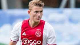 De Ligt, jugador del Ajax. Foto: ajax.nl