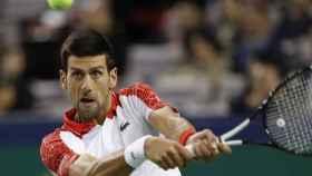 Djokovic en el Masters 1.000 de Shanghai