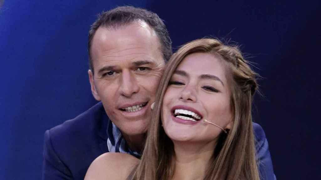 Carlos Lozano y Miriam Saavedra en imagen de archivo.