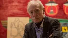 Eduardo Arroyo en su casa de Madrid.