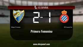 El Málaga venció como local al Espanyol