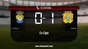 El Fuenlabrada doblegó a Las Palmas At. por 0-1