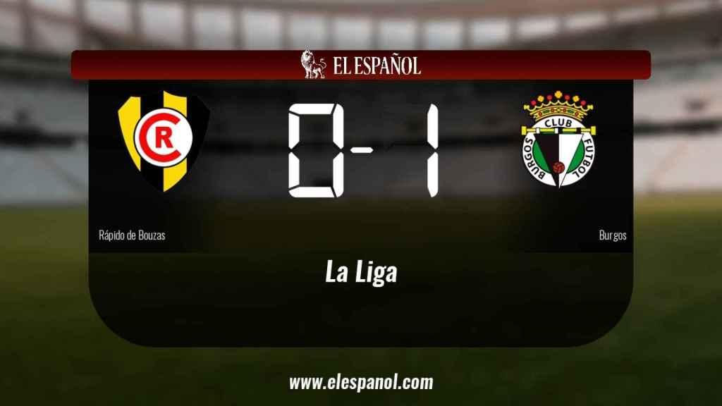 El Rápido de Bouzas cae derrotado frente al Burgos (0-1)