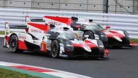 Fernando Alonso y su Toyota acaban segundos en las Seis Horas de Fuji