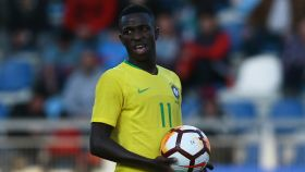 Vinicius Júnior, en un partido de la selección sub20 de Brasil