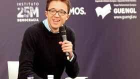 Errejón durante su intervención en la universidad de Otoño de Podemos