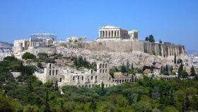 Acrópolis de Atenas.