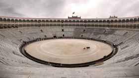 Talavante torea solo en Las Ventas en una imagen modificada por Ignacio Pereira