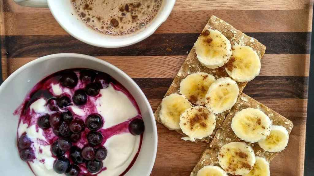El desayuno propuesto por el nutricionista Aitor Sánchez.