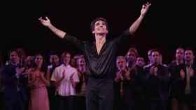 El bailarín Joaquín De Luz tras su actuación este domingo en el Lincoln Center de Nueva York.  EFE.