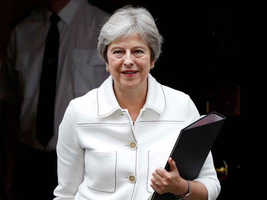 May ha informado este lunes al Parlamento británico sobre el estado de las negociaciones