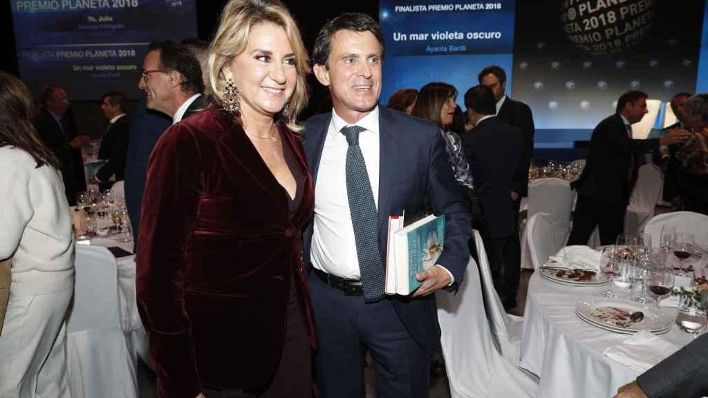 Manuel Valls y Susana Gallardo, juntos y cómplices.
