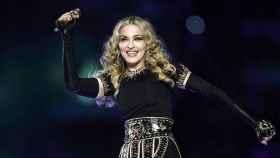 Madonna en un concierto.