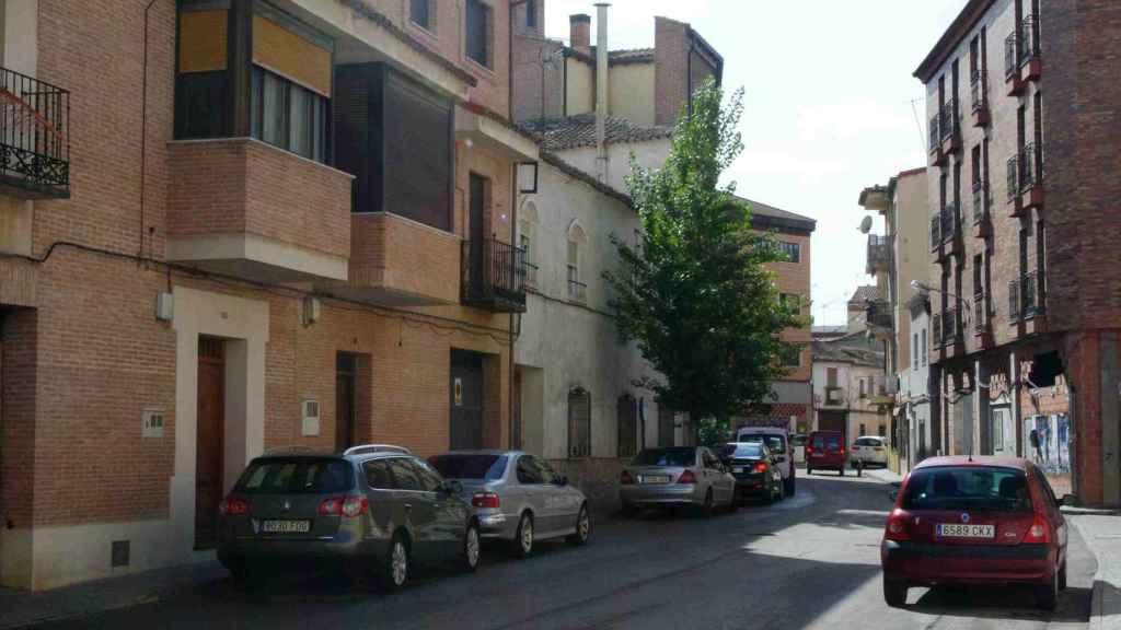Calle Cardenal Reig, en Ocaña (Toledo), una de las repobladas en la operación de empadronamiento masivo.