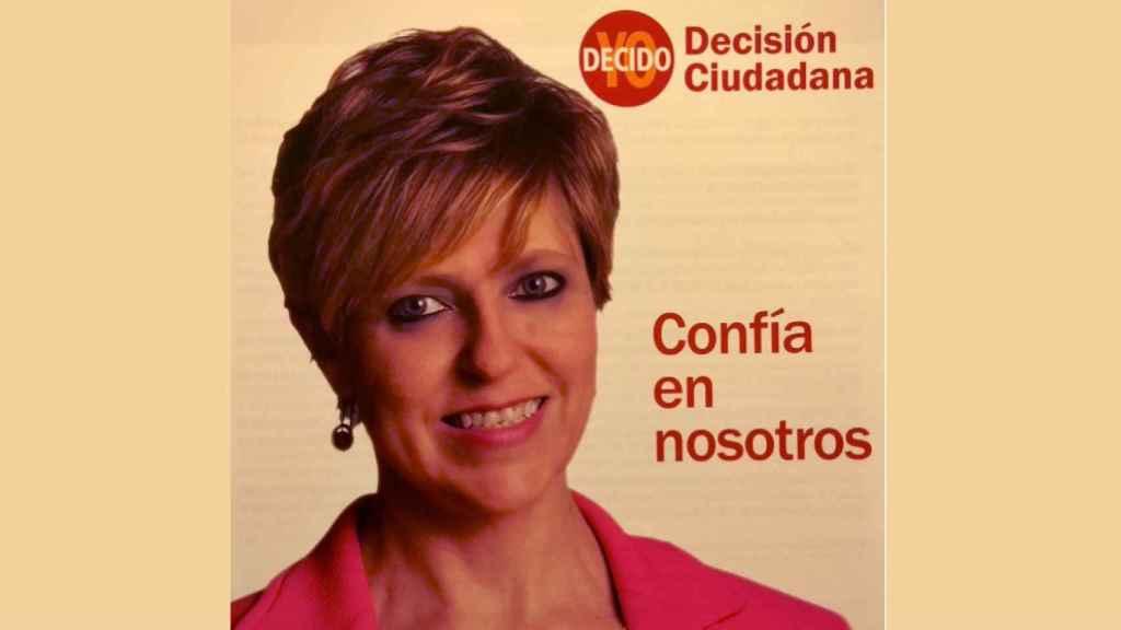 Eva Ariza, ex líder de Decisión Ciudadana-Yo Decido y ahora de Ciudadanos en Ocaña.