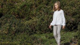 La princesa Leonor en Covadonga.